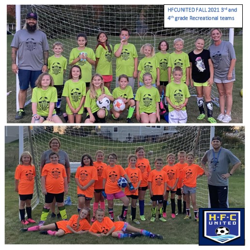 Fall 2021 HFCUnited Recreational Teams
