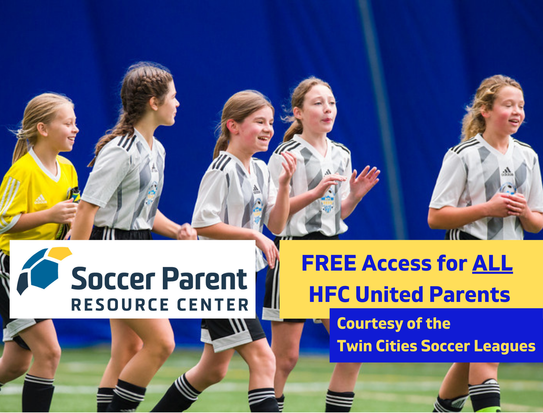 FREE Access to the Soccer Parent Resource Center