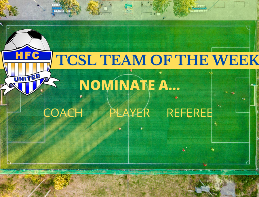 Nominate a Coach, Player, or Referee to the TCSL Team of the Week