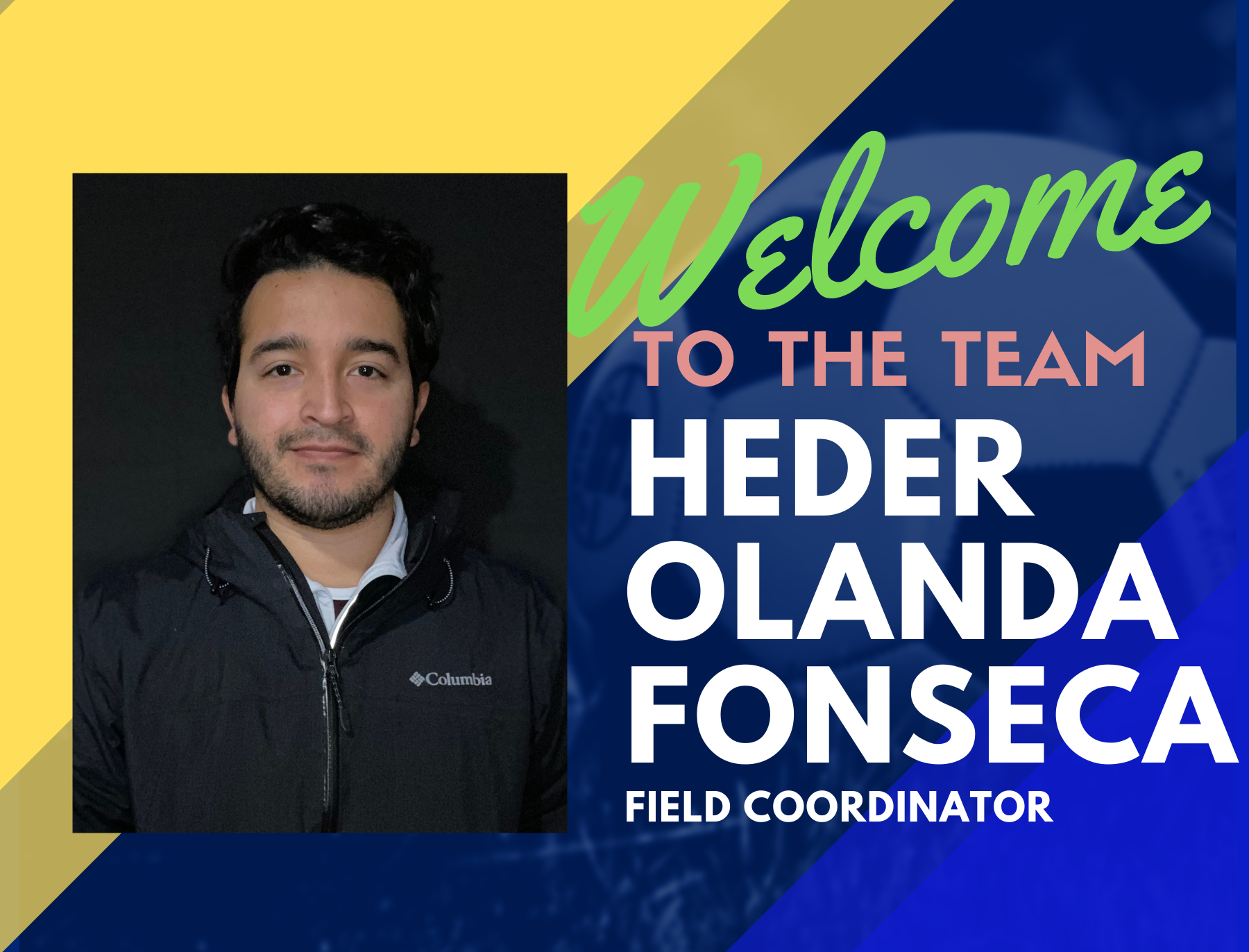 Welcome Coach Heder as HFC United's New Field Coordinator